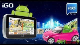 Como Instalar O GPS IGO (offline) No Android