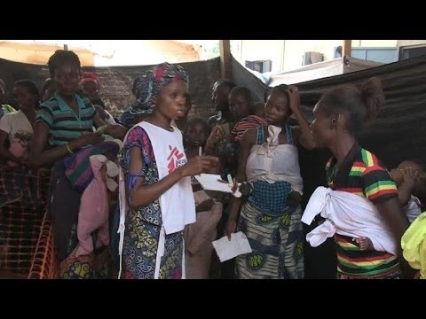 NGOs in Bangui overwhelmed with number of displaced
