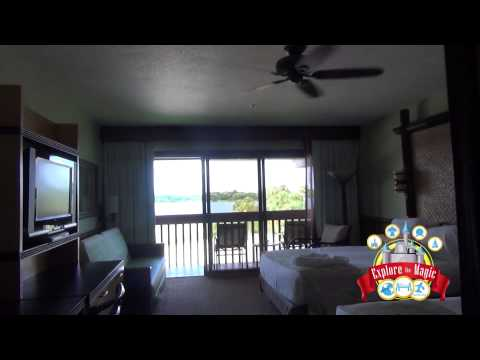Disney's Polynesian Resort Room with Theme Park View