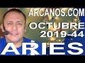 Video Horóscopo Semanal ARIES  del 27 Octubre al 2 Noviembre 2019 (Semana 2019-44) (Lectura del Tarot)