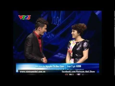 Vietnam idol 2012 - Gala 8 ngày 11/1/2013: Bảo Trâm - Hoa lài màu xanh