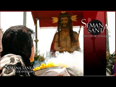Viernes Santo Viacrucis Semana Santa en Santa Fe de Antioquia 2013