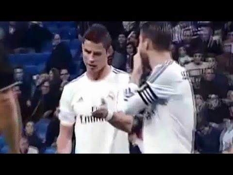 Cristiano Ronaldo & Sergio Ramos Free Kick Dispute [English Sub]
