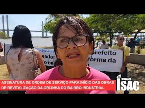 Imagem para vídeo Assinatura Ordem de Serviço da revitalização da Orlinha d...