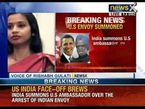 NewsX- India summons US envoy Nancy Powell over arrest of diplomat in New York
