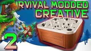 Minecraft: Modded Creative Lucky Block Let's Play W/Mitch