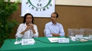 SINDIMED PROSSEGUE COM OS DEBATES PARA A PREFEITURA - Vera Lúcia