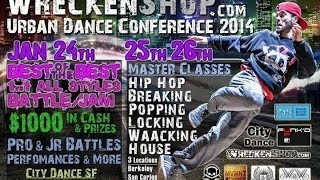 Wreckenshop Urban Dance Conference 2014