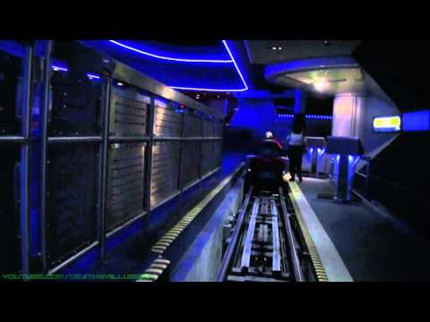 Space Mountain Complete Experience Front Seat (Nightvision HD POV) Magic Kingdom WDW