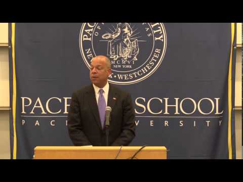 Dyson Lecture April 10, 2014 by Secretary of Homeland Security Jeh Johnson