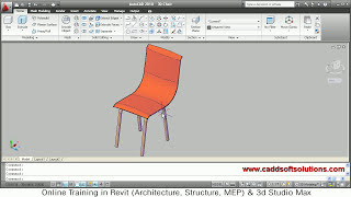 AutoCAD 3D Chair Model Tutorial AutoCAD 2010 Download