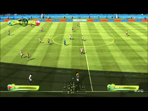 2014 FIFA World Cup Brazil - Brazil vs Chile Gameplay [HD]
