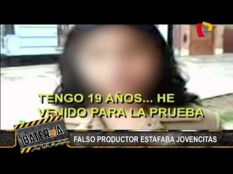 Capturan a falso productor de televisión que estafaba a jovencitas