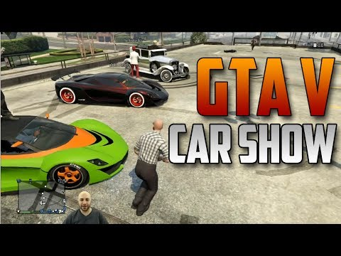 GTA V Car Show Competition!