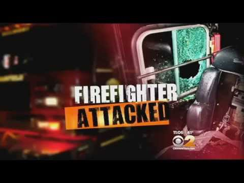 Teen arrested in smashed window injury to firefighter