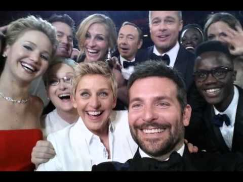 2014 OSCARS : This Is The Greatest And Most Retweeted Hollywood Selfie Of All Time (3/2/14)