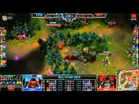[08.05.2014] ATPA vs SKT [All-Star Paris 2014]