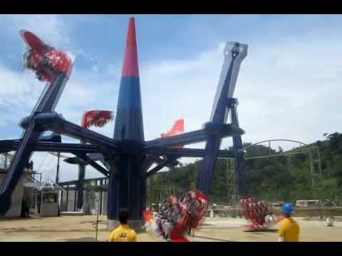 Hihiberan Jungleland Adventure Theme Park Sentul - YouTube