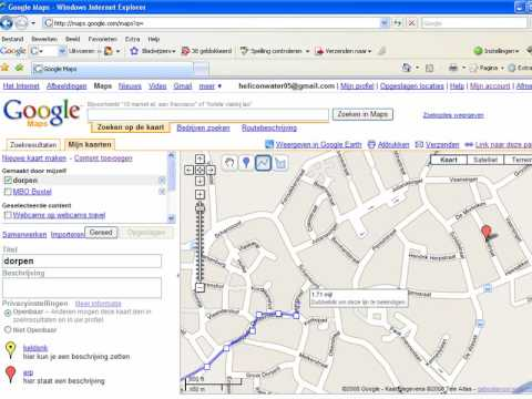how to draw a route in google maps