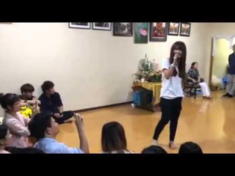Người Yêu Cũ Khởi My La# hát ở Nhật Bản