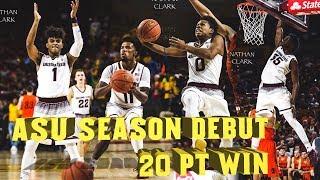 ASU Season Debut, Easy 20 Point Win Over Idaho State