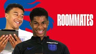 Rashford's Worst Habit and Lingard's Sporting Hero | Lingard and Rashford | Roommates