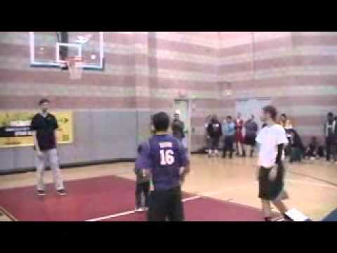Los Angeles Lakers Pau Gasol plays S-P-R-I-N-T