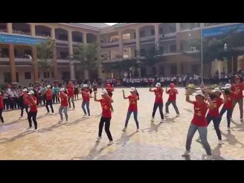 Bài dự thi Nhóm nhảy lớp 7 a THCS Phước Long Q.9