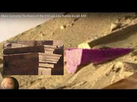 Mars Curiosity,The Ruins of the 610 sol ,Les Ruines du sol 610,May 17,2014,Anomalies