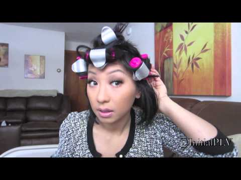 HOW TO STYLE: SHORT HAIR/BOB-CUT WITH CONAIR HOT-ROLLERS