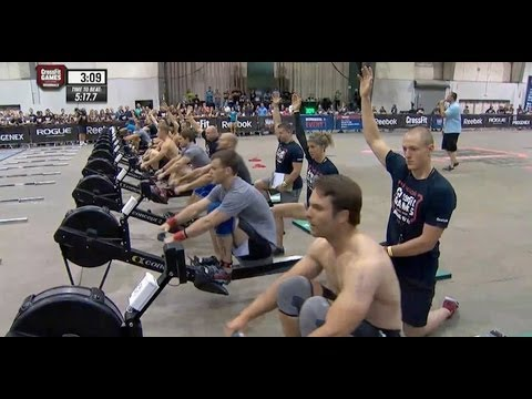 CrossFit - Central East Regional Live Footage: Men's Event 1