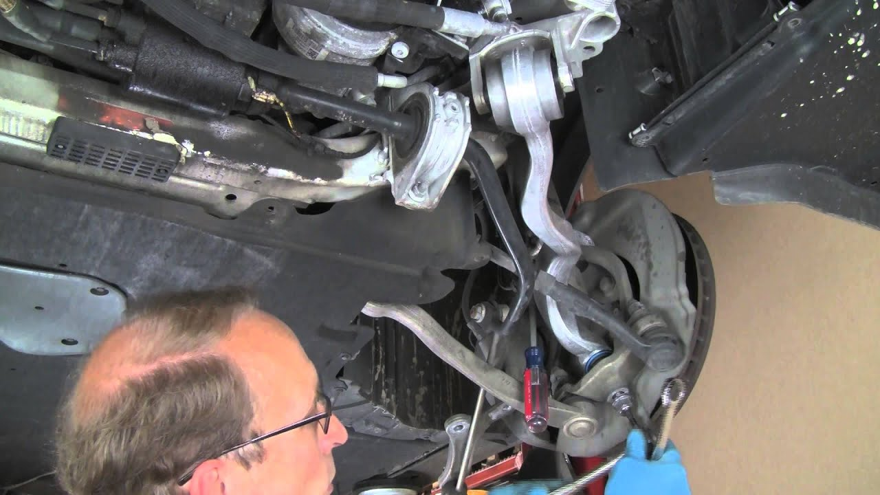 Replacing Upper Thrust Control Arm On Late Model Bmw 5