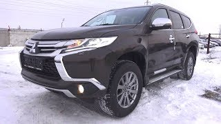 2018 Mitsubishi Pajero Sport. Брутальный Проходимец! Обзор (интерьер, экстерьер, двигатель).. MegaRetr