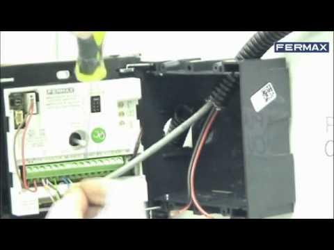 C mo instalar kit de videoportero fermax sertec www - Instalacion de videoportero ...