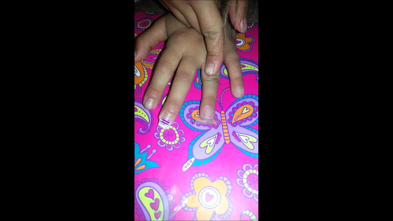 how to make fake nails without tape