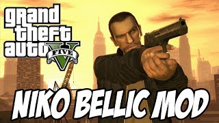 GTA V - Niko Bellic Gameplay MOD