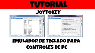 Emulador De Teclado Para Joystick O Gamepad (JoyToKey