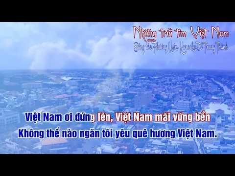 karaoke Những trái tim Việt Nam karaoke beat chuẩn 100 ca sỹ, nghệ sỹ