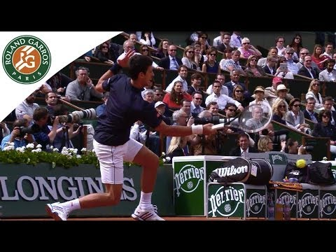 Preview of N. Djokovic v. E. Gulbis SF match 2014 French Open