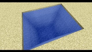Minecraft: How To Make A Water Portal Trap (Xbox 360 And