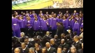"AIM 2011 COGIC International Mass Choir sings ""Great God Great Vision Great Accomplishments"""