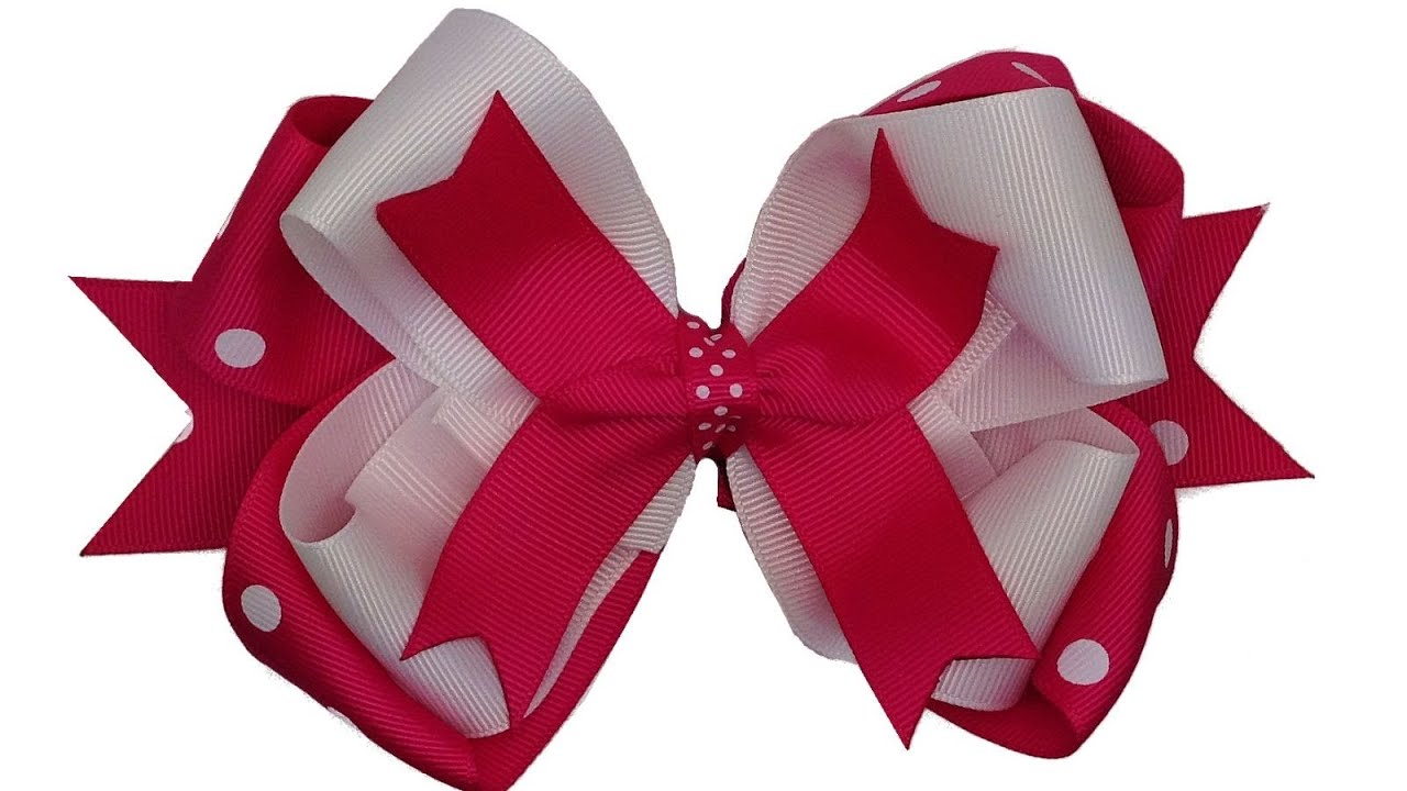 how to make a hair bow step by step instructions