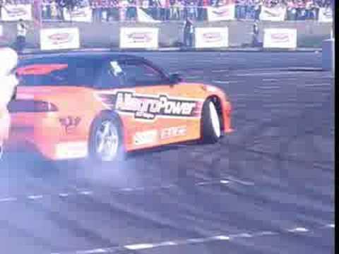 Maciej Polody & Nissan 200SX - drift (AllegroPower Zabrze)