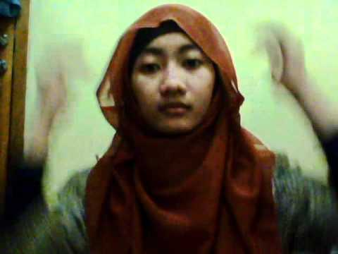 Tutorial jilbab paris modern by Kiki Rizkilina