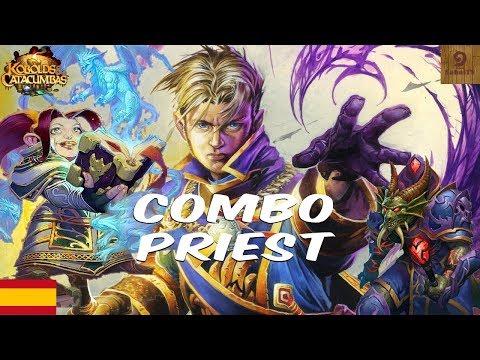 Mazo sacerdote combo 🐉 mejores mazos Hearthstone español 🐲 priest combo deck - parte 1/2
