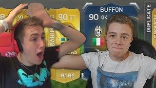 "FIFA ""Up For Grabs"" Pack Opening Vs MINIMINTER"