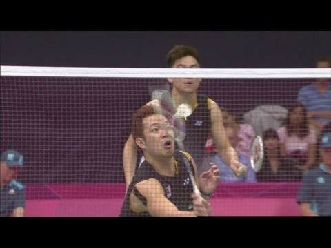 Badminton Men's Doubles Quarterfinals - THA v MAS - Replay -- London 2012 Olympic Games
