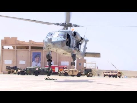 US Military, Partner Nations Conduct Helicopter Fast Roping Training