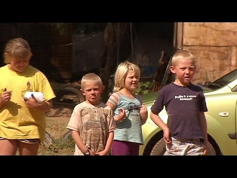 'Reverse apartheid': South Africa's white slums