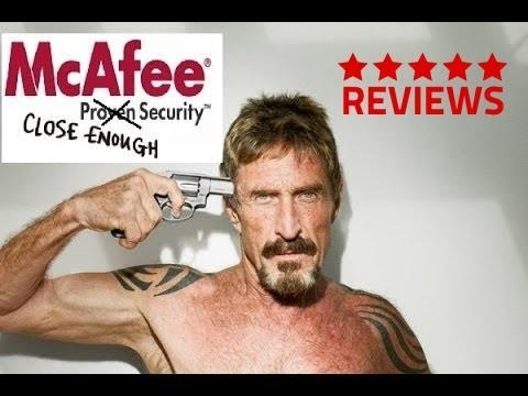 Mcafee Internet Security Anti Virus Review With John Mcafee's Opinion